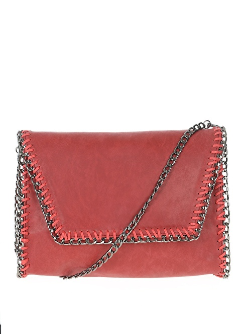 D by Divarese Clutch / El Çantası Bordo